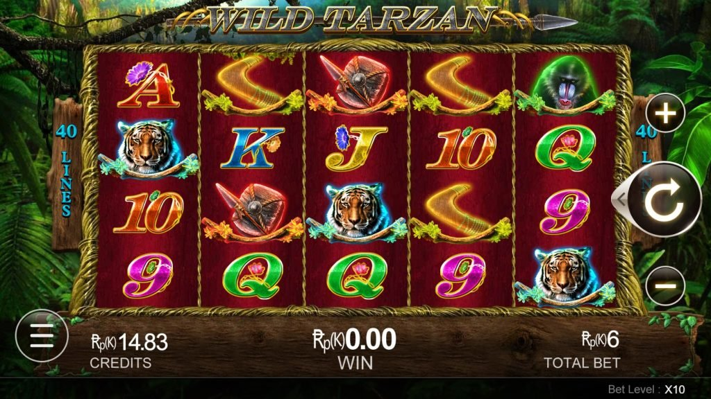 slot game wild tarzan