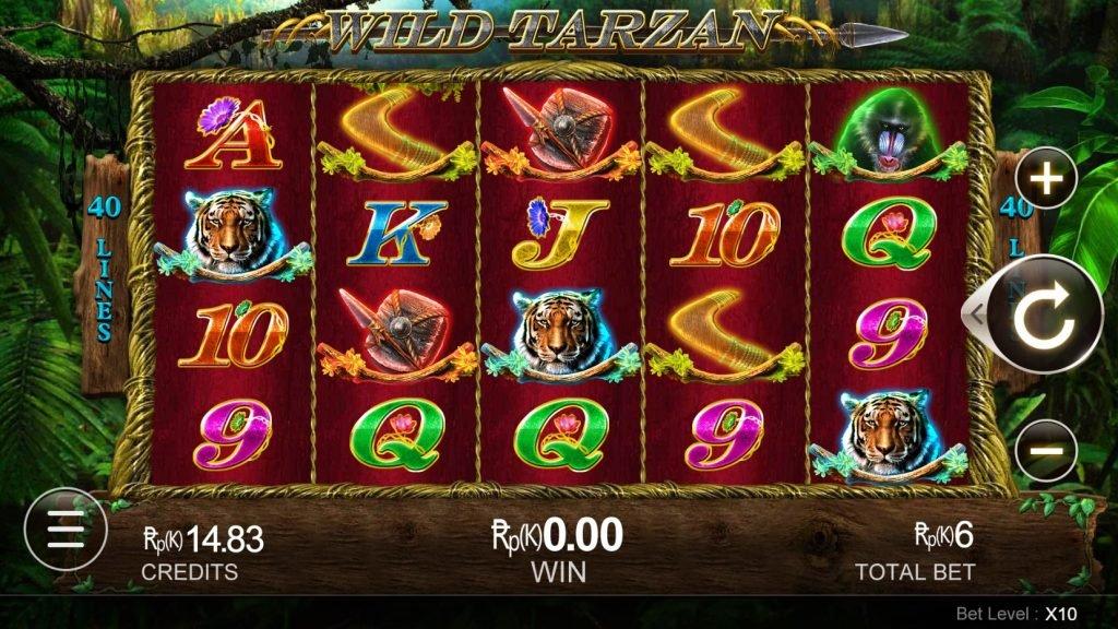slot game wild tarzan