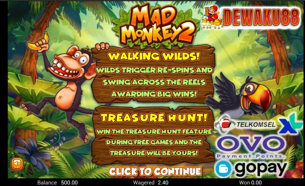 mad monkey 2 online