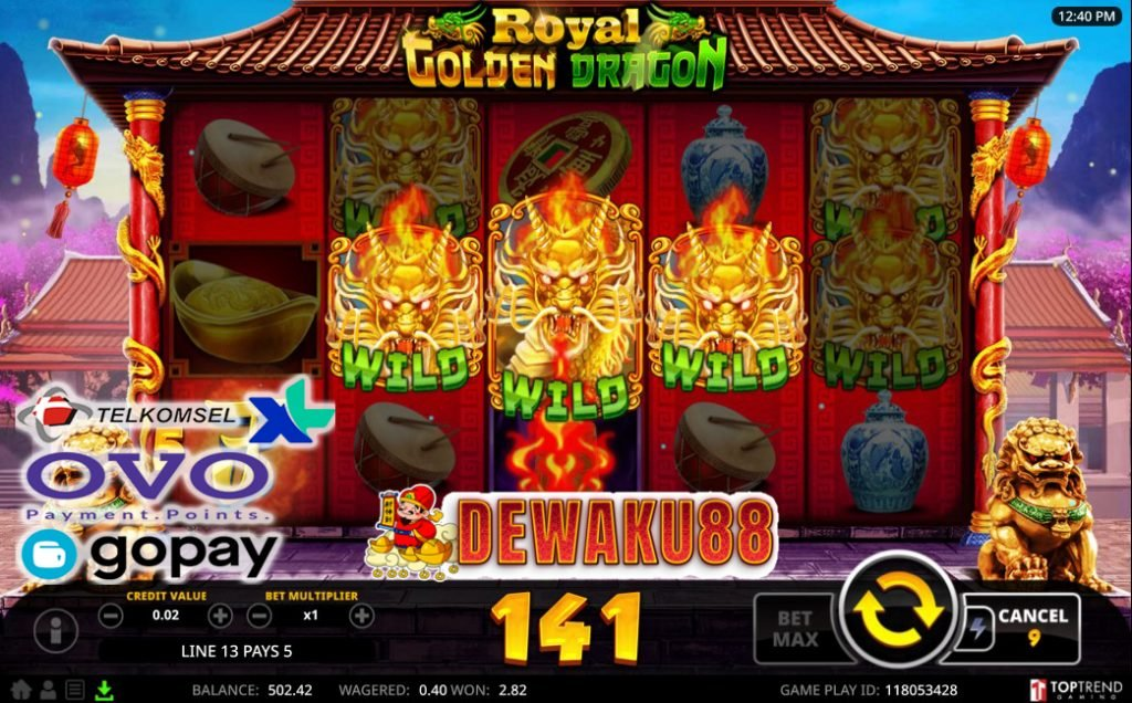 game royal golden dragon