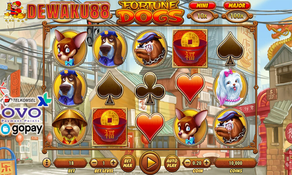 Slot Habanero Fortune Dogs