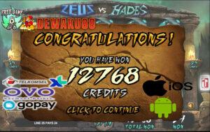 Slot Online Zeus VS Hades